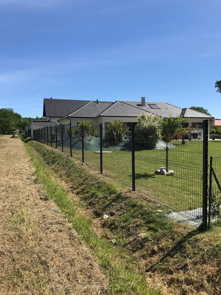 Installation Clôture de jardin Pau Morlaas