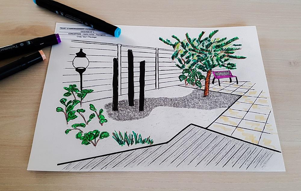 création jardin terrasse pau 64