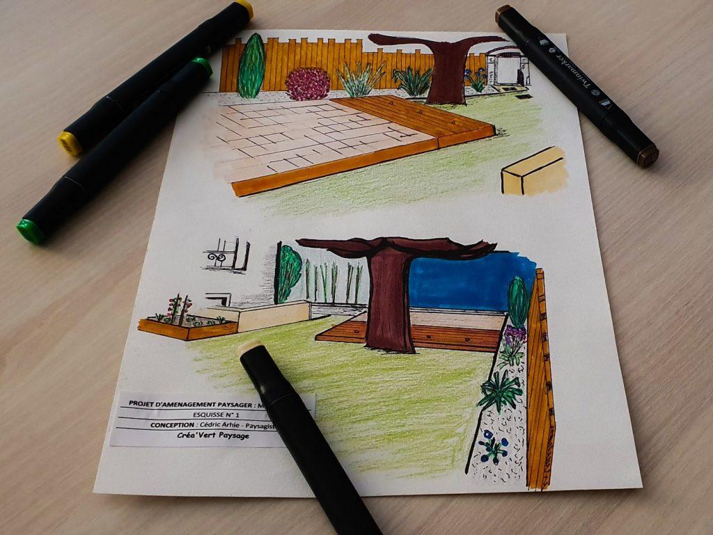 Création aménagement de jardin