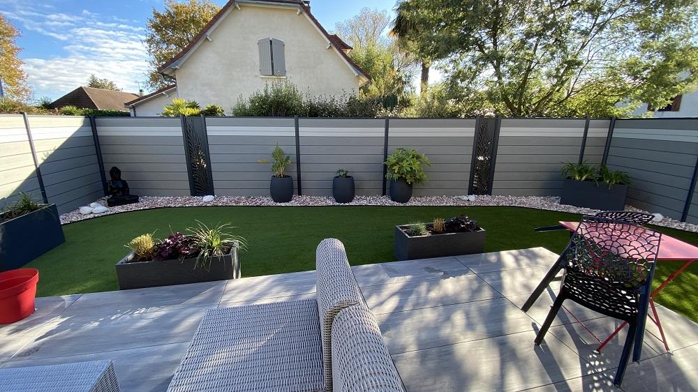 terrasse pelouse